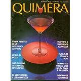 QUIMERA. Revista de Literatura. Nº 54 / 55. Utopía y límites de la inteligencia artificial; Artaud en México;...