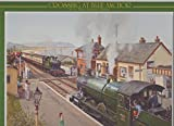 Crossing At Blue Anchor On The West Somerset Railway - Jigsaw Puzzle (1000 Piece) Transport, Steam Engines, Trains, Railways, Locomotives