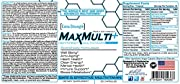 MaxMulti The Best Multivitamin Supplement for Heart Health, Anti-Aging, Energy, Focus, Well Being, and Immune Support! Once A Day Formula! High Potency Multivitamin! (1 Month Supply)