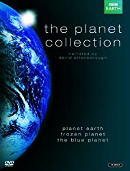 The Planet Collection (Blue Planet/Planet Earth/Frozen Planet) [DVD]