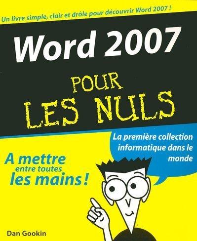 Livre word 2007 pour les nuls - L immobilier pour les nuls ...
