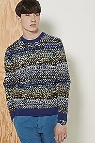 L!ve Multi Color Tumblr Jacquard Sweater