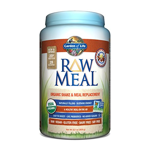 Shipping From Usa Garden Of Life Raw Meal Organic Snack And Meal Replacement Vanilla Spiced