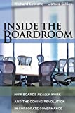 img - for Inside the Boardroom: How Boards Really Work and the Coming Revolution in Corporate Governance book / textbook / text book