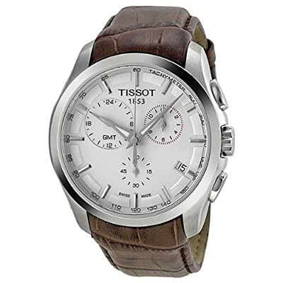 Tissot Couturier GMT White Dial Mens Watch T0354391603100