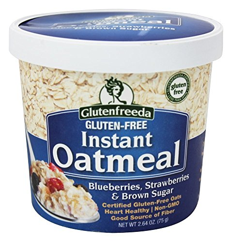 Glutenfreeda - Instant Oatmeal Cup Blueberries, Strawberries & Brown Sugar - 2.64 oz.(pack of 2)