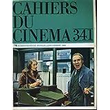 """Cahiers du cinema n° 341 - jacques demy: """"une chambre en ville"""" - """"toute une nuit"""" de chantal akerman - boris..."""