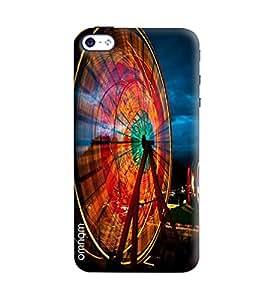 Omnam Sky Wheel Of London Printed Designer Back Cover Case For Apple iPhone 4/ 4S