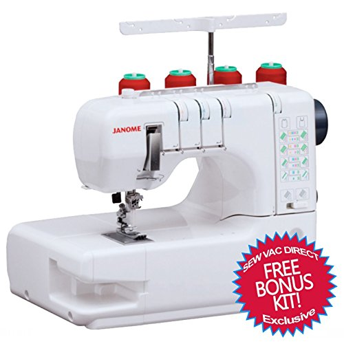 Buy Discount Janome Cover Pro 1000CPX Coverstitch Machine & FREE BONUS KIT