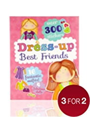 Dress Up Best Friends Book for Girls