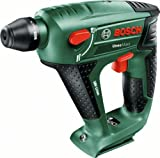 Bosch Uneo Maxx Cordless Lithium-Ion Pneumatic Rotary Hammer Drill Featuring Syneon Chip (Baretool: Supplied without Battery/without Charger)