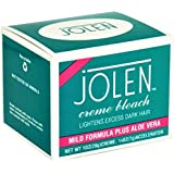 Jolen Creme Bleach Sensitive Formula Aloe Vera 1 Oz (Pack Of 5)