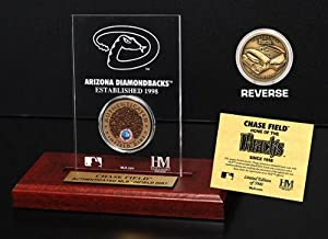 Highland Mint MLB Arizona Diamondbacks Chase Field Infield Dirt Coin Etched Acrylic by Highland Mint