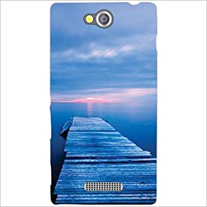 Sony Xperia C Back Cover Designer Hard Case Printed Cover