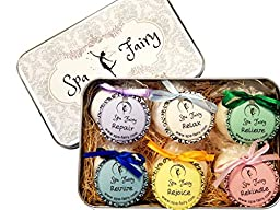 Spa Fairy Deluxe Bath Bomb Gift Set, 4 oz (Pack of 6)