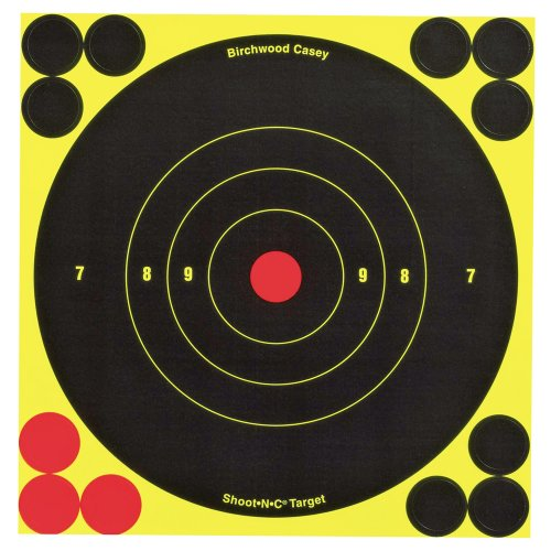 Birchwood Casey Shoot-N-C 6-Inch Round Target (60 Sheet Pack) (Round Up Target compare prices)