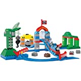 Mattel Mega Bloks Thomas And Friends Brendam Docks Deluxe Starter Set, Multi Color