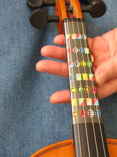 Fretless Finger Guide for Full (4/4) Size Violin (Full Violins compare prices)