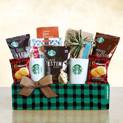 A Starbucks Winter | Holiday Coffee Gift Basket (Coffee And Tea Gift Basket compare prices)