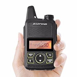 Original BAOFENG BF-T1 MINI Walkie Talkie UHF 400-470mhz Portable Two Way Radio Ham Radio Micro USB Transceiver+Programming cable