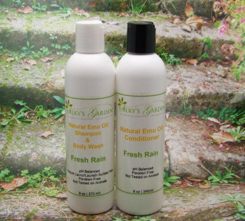 Emu Oil Shampoo & Conditioner Set (8oz Set)