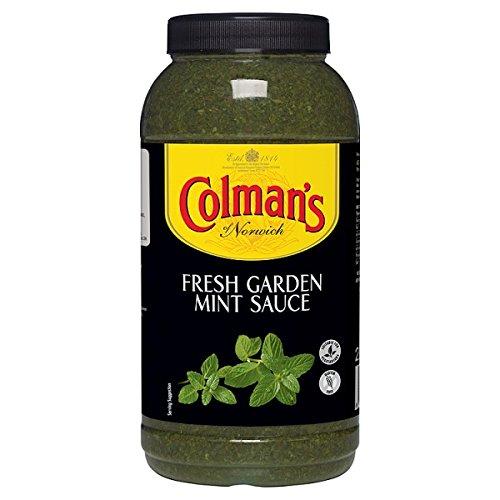 Colemans fraîches du jardin sauce à la menthe - 2ltr