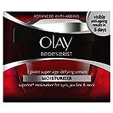 4 x Olay Regenerist Daily 3 Point Treatment Cream 50ml