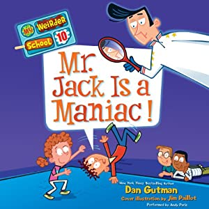 Mr. Jack Is a Maniac! Audiobook