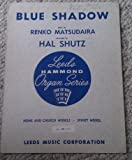 img - for Blue Shadow (Leeds Hammond Organ Series) book / textbook / text book