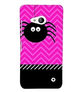 Spider Clipart 3D Hard Polycarbonate Designer Back Case Cover for Lumia Lumia 550 :: Microsoft Lumia 550