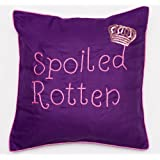 Bandbox Spoiled Rotten Cushion Cover - Purple( Size:- 16 In. X 16 In.)