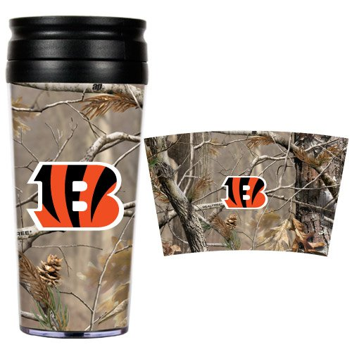 Nfl Cincinnati Bengals Open Field Travel Tumbler back-619804