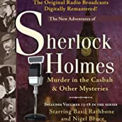 Murder in the Casbah and Other Mysteries: The New Adventures of Sherlock Holmes (Dramatized) | [Anthony Boucher, Denis Green]