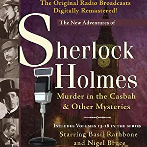 Murder in the Casbah and Other Mysteries Audiobook