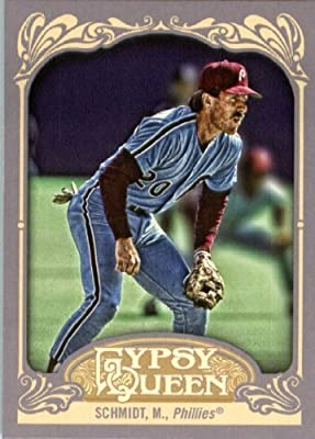 2012 Topps Gypsy Queen Baseball Card #258 Mike Schmidt - Philadelphia Phillies (MLB Trading Card)