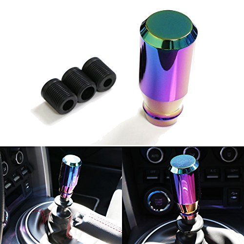 iJDMTOY JDM Neo Chrome Manual or Automatic Shift Knob, Universal Fit For Honda Acura Mazda Mitsubishi Nissan Infiniti Lexus Toyota Scion, etc (350z Shift Knob compare prices)