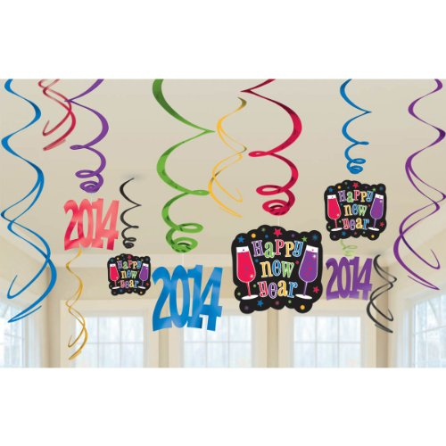 swirl decoration value pack 2014 jewel tone