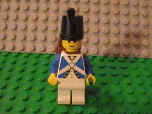 Lego Pirate Adventures Imperial Soldier Minifigure (Blue Coat) (Lego Pirates Imperial Soldiers compare prices)