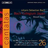 Bach, J.S.: V 26: Cantatas, Bwv 96, 122, 1