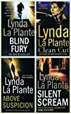 Lynda La Plante Lynda La Plante books: 4 thrillers (Above Suspicion / Silent Scream / Blind Fury / Clean Cut rrp £27.96)