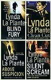 Lynda La Plante Lynda La Plante books: 4 thrillers (Above Suspicion / Silent Scream / Blind Fury / Clean Cut rrp £27.96)