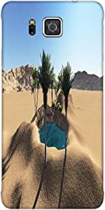 Snoogg Oasis Protective Case Cover For Samsung Galaxy Alpha