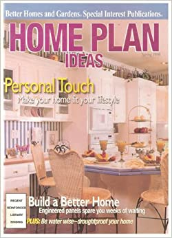 Home Plan Ideas Spring 1998 Better Homes And Gardens