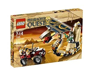 LEGO Pharaoh's Quest Cursed Cobra Statue 7325 by LEGO