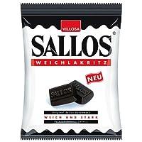 Sallos Weich Lakritze 150g / 5.3 Oz (Soft Licorice)