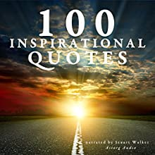 100 inspirational quotes (       UNABRIDGED) by  divers auteurs Narrated by Stuart Walker