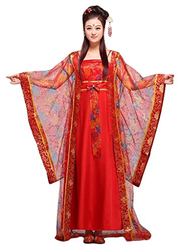 Chinese Style Stage Costume Women&Girl Princess Dresses Halloween Cosplay HanFu
