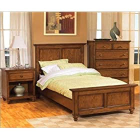 Home Styles 5271-4002 Canopy Oaks Bedroom Set with Dresser