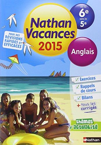 Cahier de vacances  - Anglais 6e - 5e