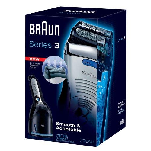 Braun Hair Remover: Braun Series 3-390cc Men's Shaving System